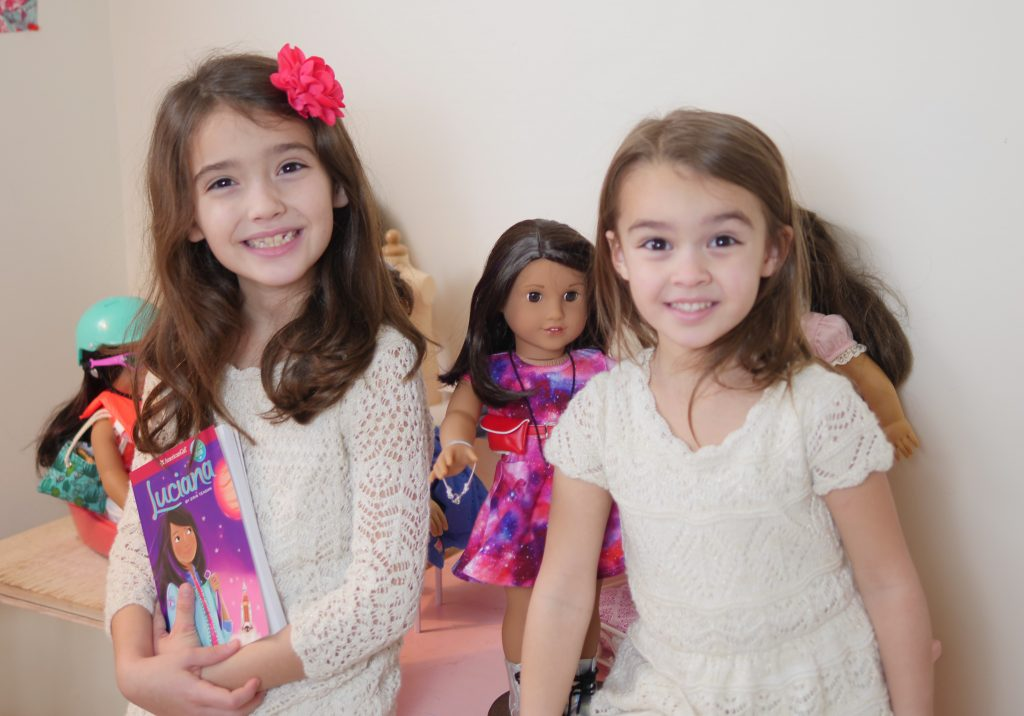 Theresa's Reviews - The Sammie and Georgie Show Unbox American Girl 2018 Girl Of The Year Luciana Vega
