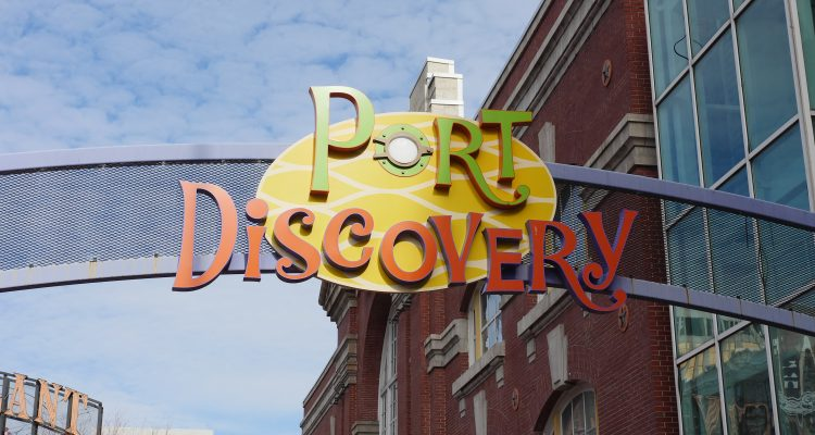 Port Discovery located at the Inner Harbor in Baltimore