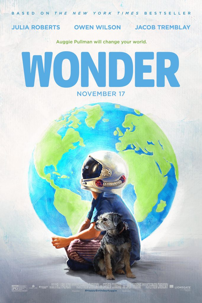 'Wonder' Movie Theatrical Release Specialty Poster