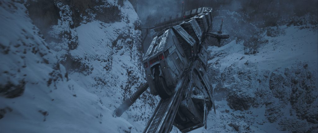 The Conveyex in SOLO: A STAR WARS STORY. 'Solo: A Star Wars Story' still photo #SoloAStarWarsStory