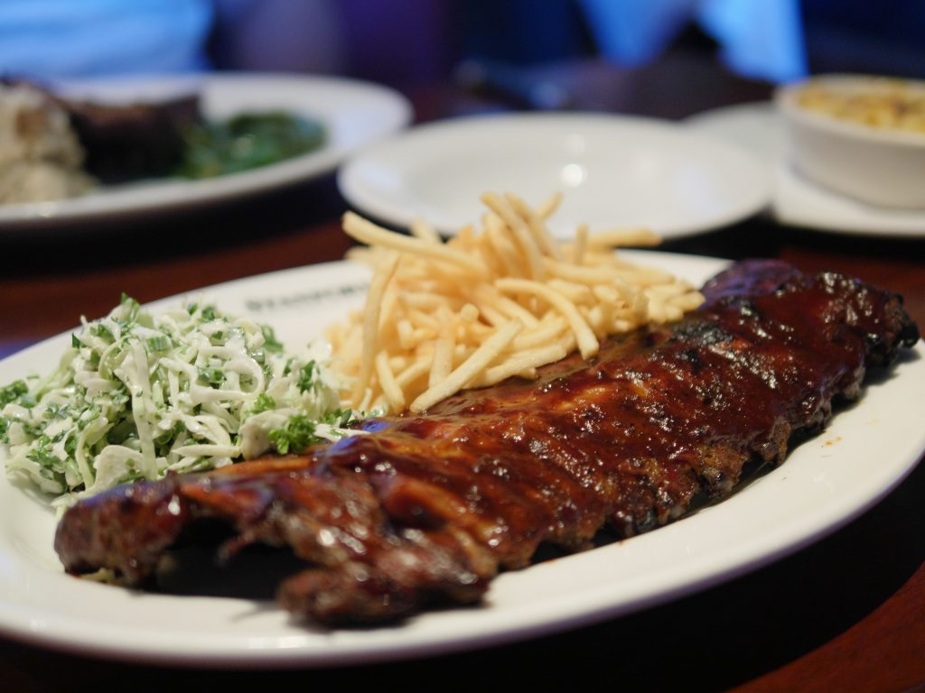 Danish Barbeque Pork Ribs at Stanford Grill