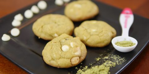 Theresa's Reviews DELICIOUS St. Patrick's Day Matcha Cookies