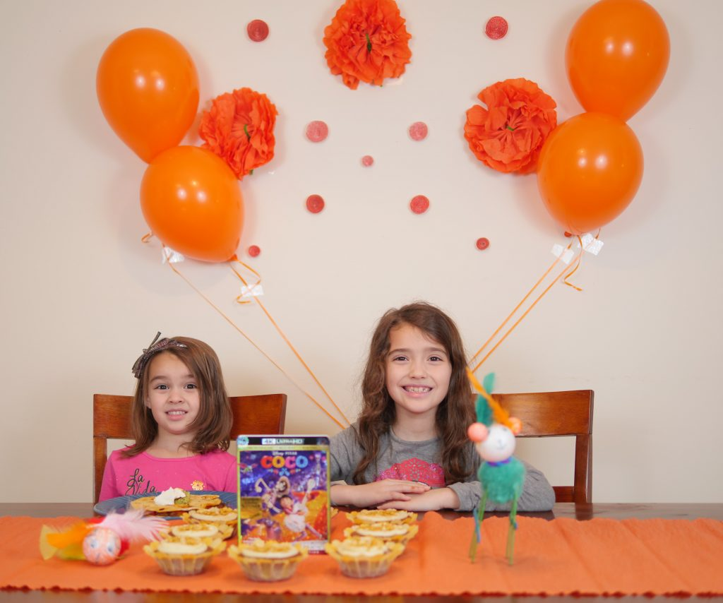 Throw a Disney Pixar Coco Movie Party with these ideas from Theresa's Reviews! #CocoBluRay