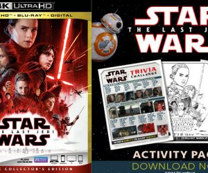 Theresa's Reviews - Star Wars: The Last Jedi Free Printable Activities
