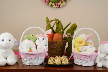 Easter Basket Plush Toy Ideas - Theresa's Reviews
