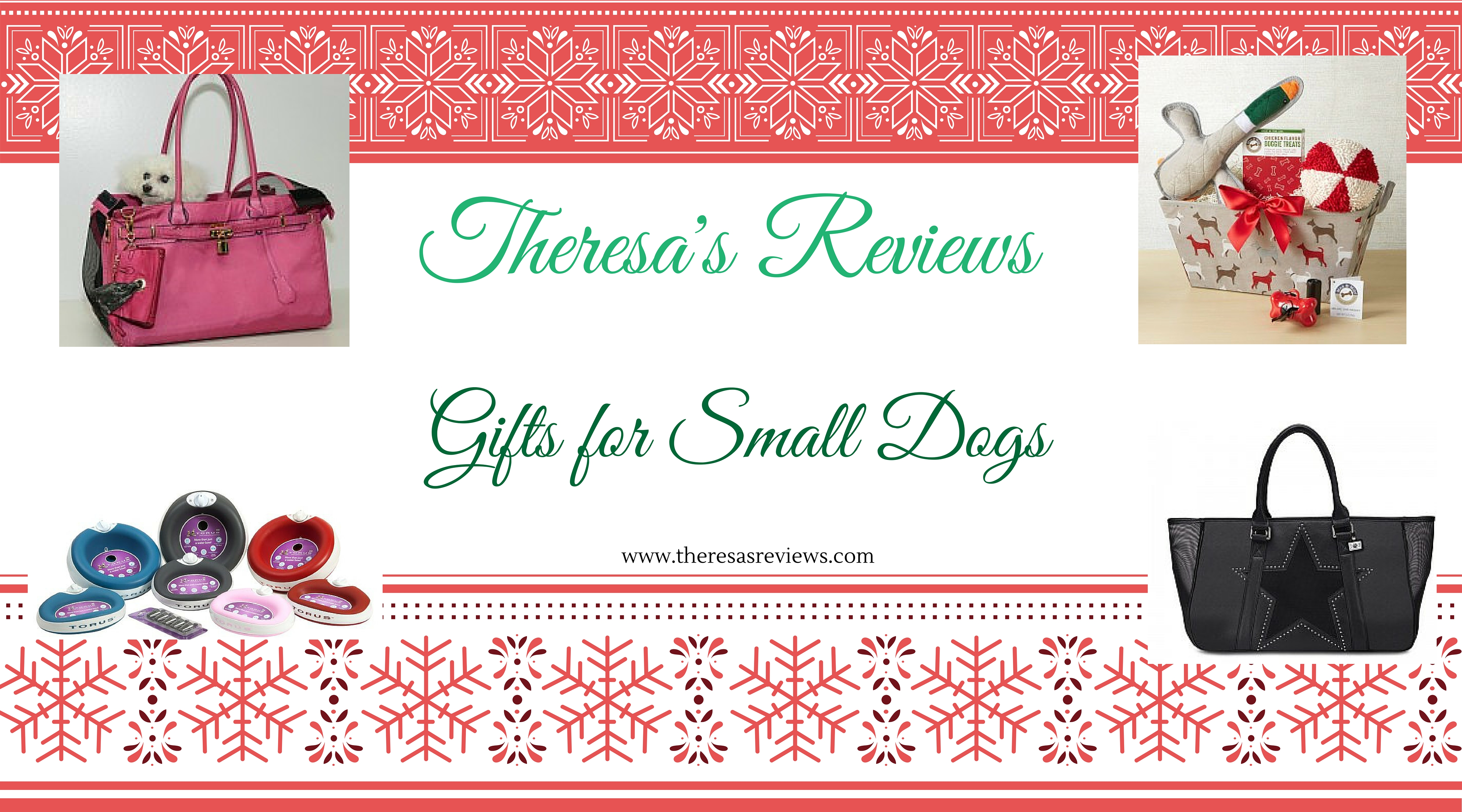 Gifts for Small Dogs - Theresa's Reviews - www.theresasreviews.com #gifts #Christmas #giftguide #holidays