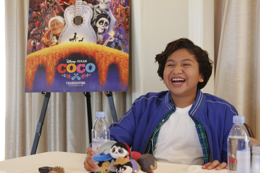Theresa's Reviews interview with Disney Pixar Coco Anthony Gonzalez (voice of Miguel)