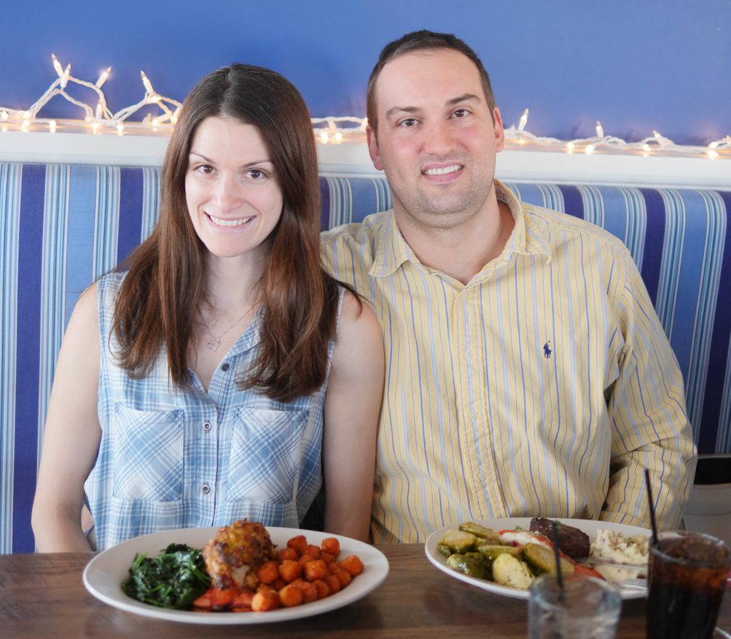 A rare photo of the two of us at Hudson Coastal Raw Bar & Grille - Theresa' Reviews