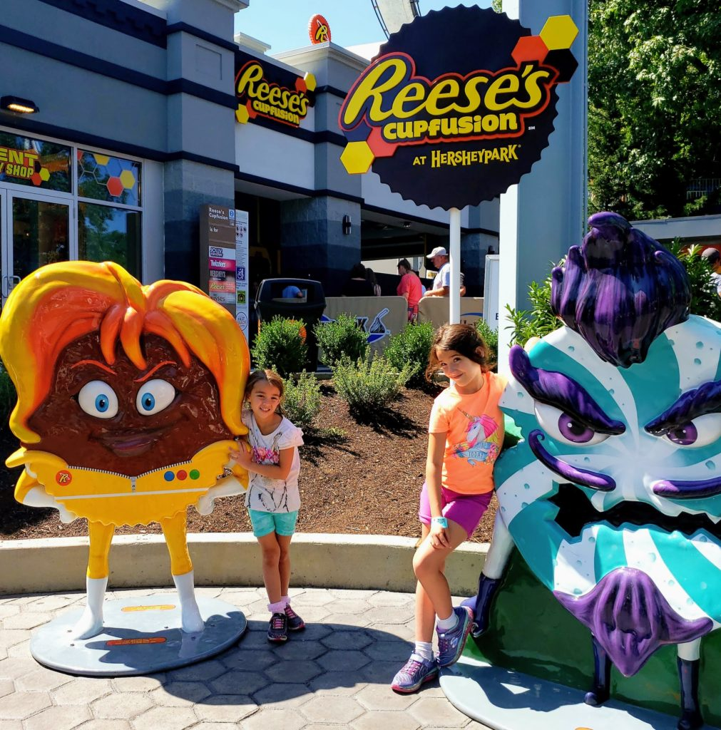 Weekend Family Getaway to Hershey and Harrisburg - Hershey Park Reese's Cupfusion - Theresa's Reviews