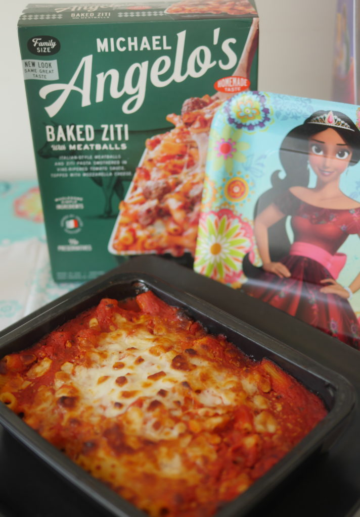 Our Casual Summertime Disney Playdate Party - Michael Angelos Baked Ziti - Theresa's Reviews #NowMoreThanEver