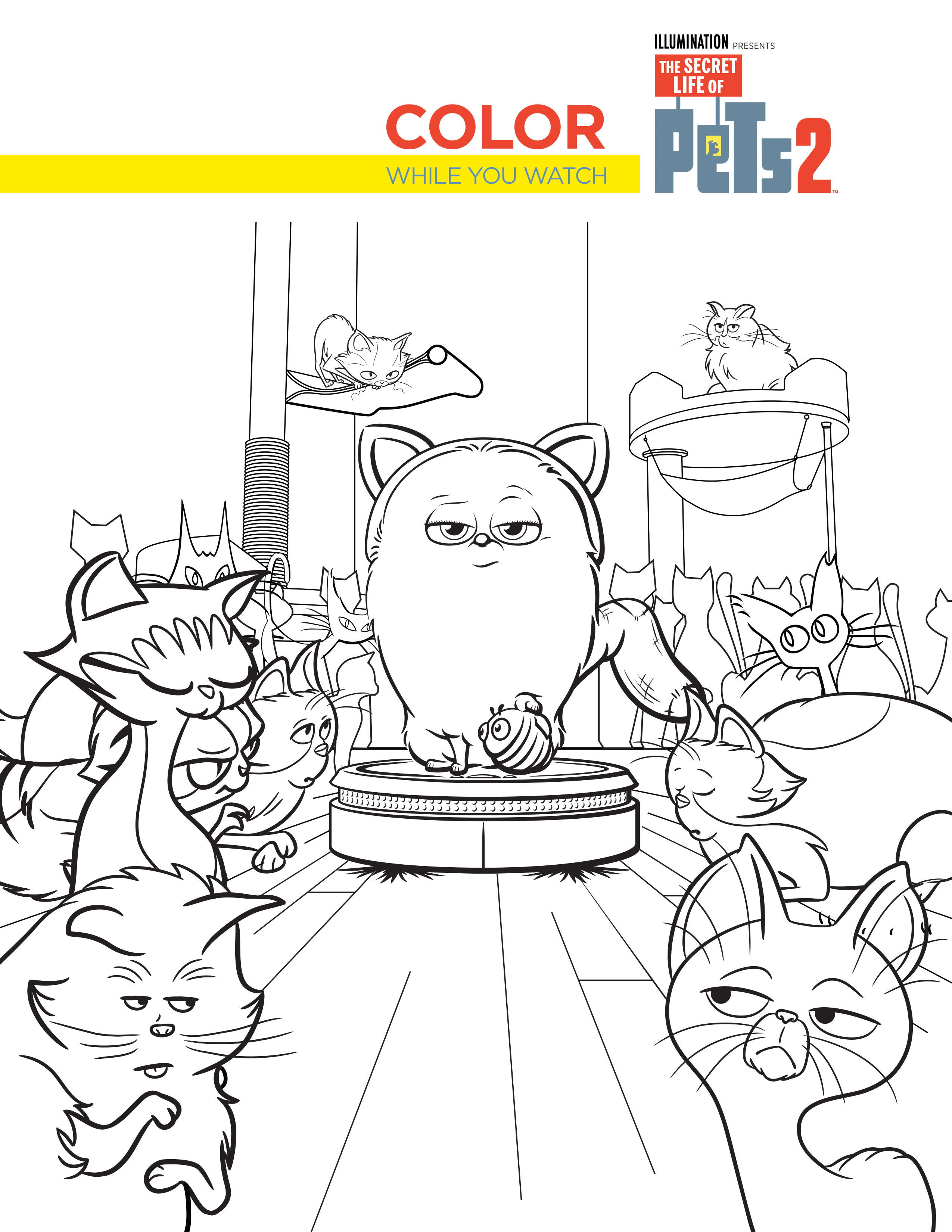 'The Secret Life of Pets 2' 20+ FREE Printable Activities ...