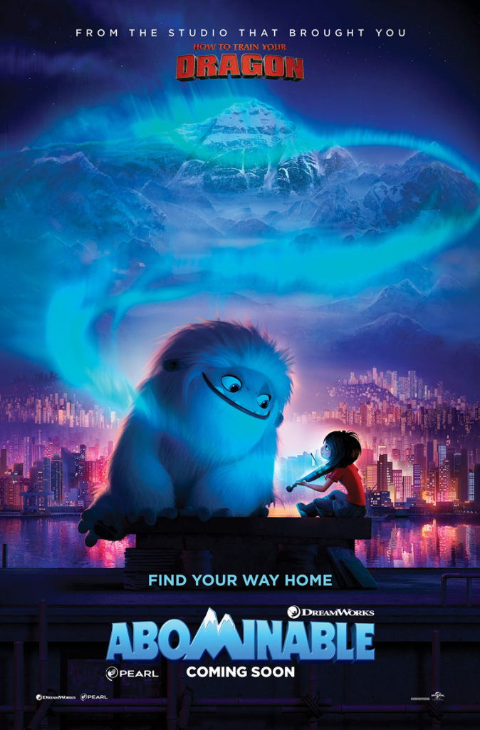 ABOMINABLE Movie Night Party Kit