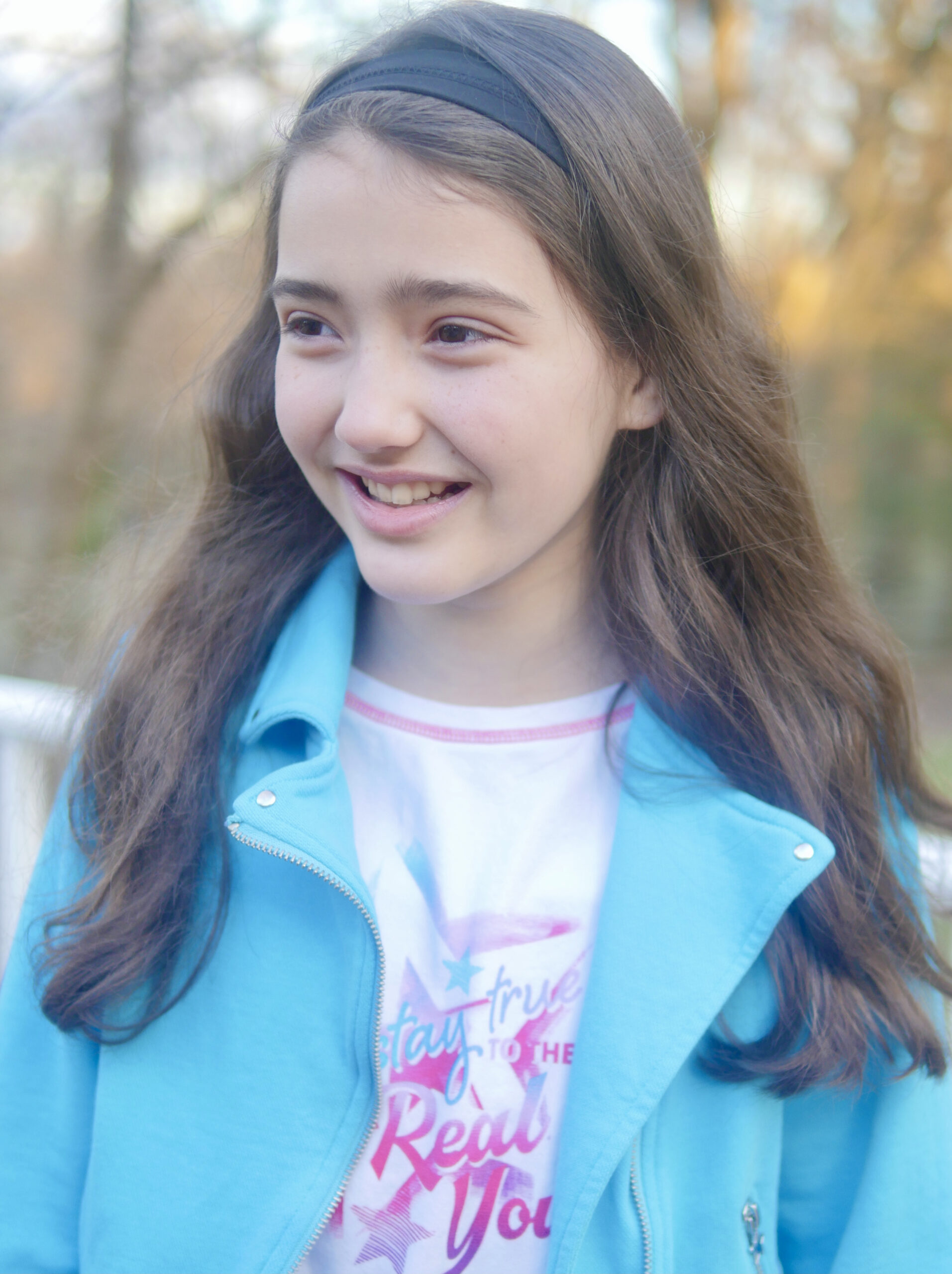 American Girl Truly Me Moto Jacket and Stay True to the Real You Tee - American Girl Outfits for Tweens & Children - Enjoying Family Life
