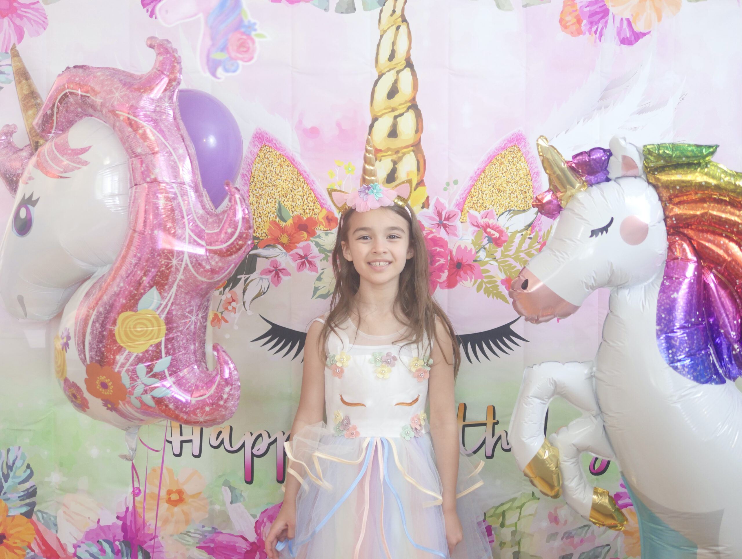 Making Our Home into a Unicorn Cave for a Memorable Virtual Birthday Party
