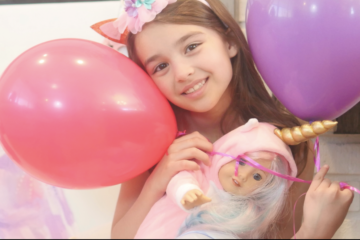 Unicorn American Girl Virtual Birthday Party