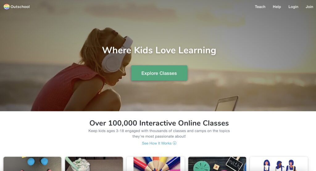 Summer Learning and Fun with Outschool (& Giveaway!)