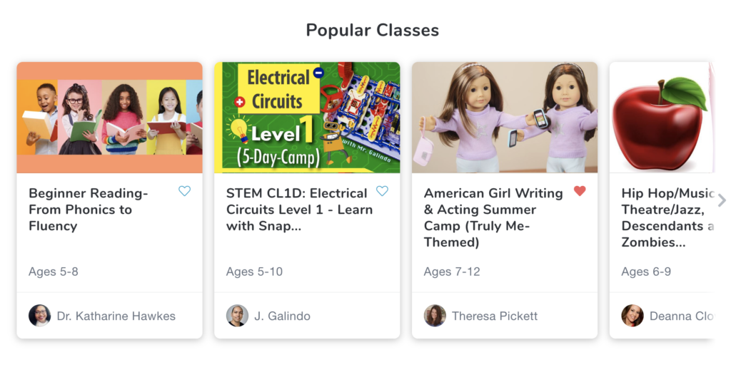 Popular Classes on Outschool