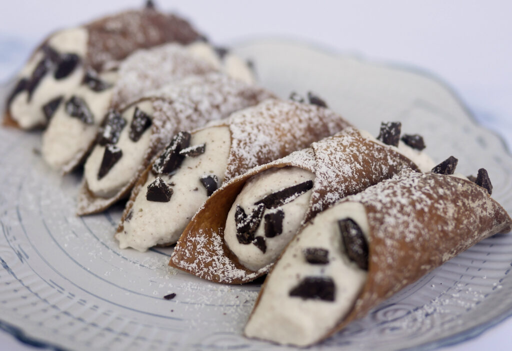 How to Make Air Fryer Cannolis Using Egg Roll Wraps